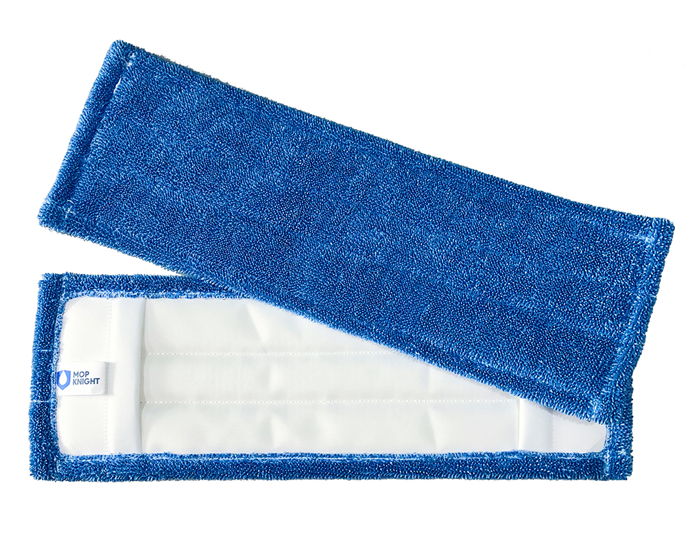 Mikrofaser Mop Kobold blue